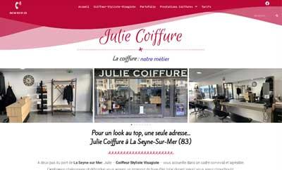 Client Julie coiffure