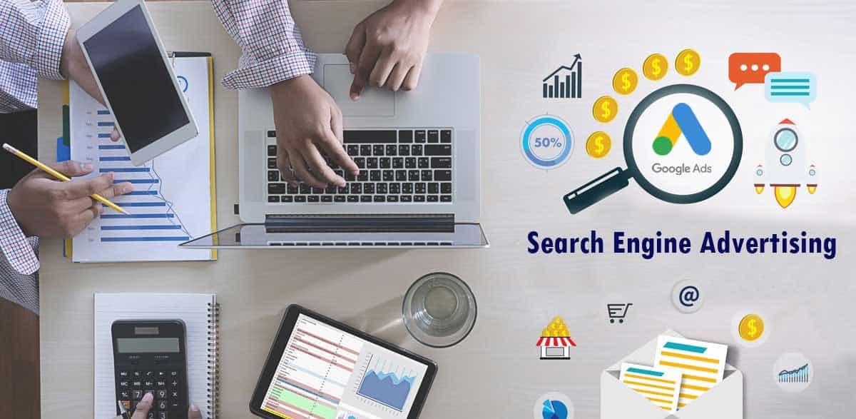 Publicité sur les moteurs de recherche - SEA - Google Ads